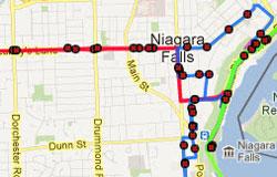 Niagara Falls Transit Map WEGO Niagara Falls   The Ride to Fun, Visitor Transportation System