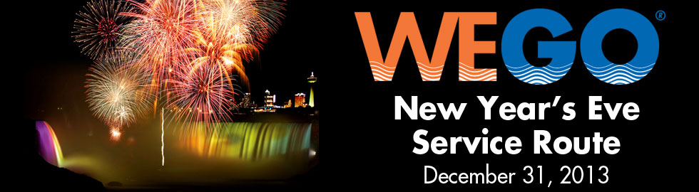 New Year's 2013 Extended Service for WEGO